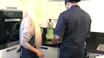 Tight Tini Seduce Fuck by Big Dick Boss at Work German Teen 13 min