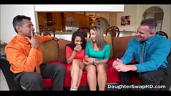 Two Dad's Agree To Fuck Each Others Hot Teen Daughters - DaughterSwapHD.com 8 min