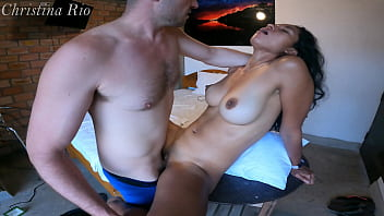 Girl I met on tinder can't resist to fuck on first day - Christina Rio