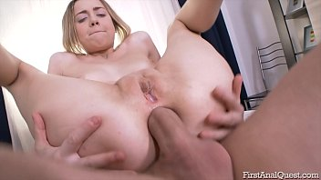 FIRSTANALQUEST.COM - ANAL MASTURBATION & BIG ASS FUCK BY NATALIA NOIR