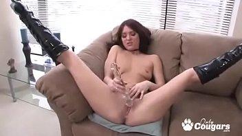 Sexy Ameara Masturbating In Fuck Me Boots
