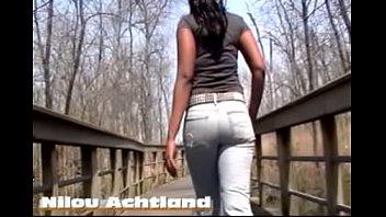Nude belt Nilous nature walk in rockstar jeans