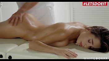 LETSDOEIT - Big Tits Teen Liya Silver Finger Fucked & Deep Anal Pleased On Massage Sex