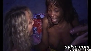2 horny lesbians caught by pervert voyeurs on beach