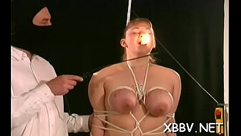 Breast torture scenes - Superb scenes of breast thraldom with needy woman in heats