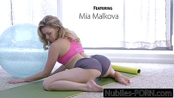 Nubiles-Porn Mia Malkovas Yoga Fuck - FULL VIDEO's Thumb