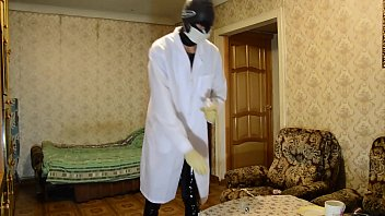 Latex medical glove - Killer preparing poison