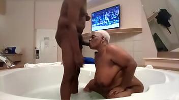 Sucking In The Bubble Bath