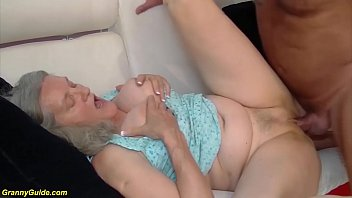 72 years old mom brutal fucked by grandpa