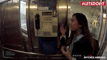 LETSDOEIT - #May Thai #Charlie Dean - Asian Teen Tourist Takes A Big Cock Abroad In Hot POV Sex 14 min