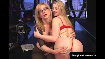 Nina hartley milf video Sex slave sunny lane is dominated by mature nina hartley