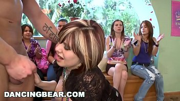 DANCING BEAR - The Bride To Be Gets Naughty Before Her Wedding Day