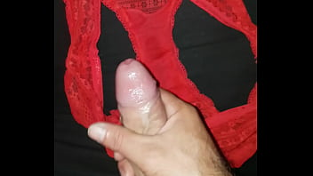 Cum in roommates panties #2