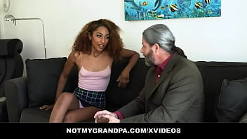 Granddaughter (Brixley Benz) confesses that she needs to be with a mature man - NotMyGrandpa