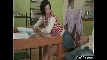 old teacher bangs cute innocent teen student