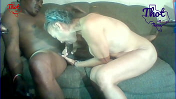 Thot in Texas - Granny Fucker with Two Different Grannies Cum inside Old Pussy Lied To African grandma To Keep Fucking Her Creamy Hairy Pussy Big Giant Fat Black Ass