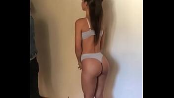 Noelia Rios incredible asshole backstage