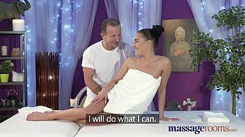 Massage Rooms Beautiful model loves finger up the ass when fucking 13 min