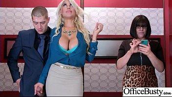 (Bridgette B) Sexy Big Tits Office Girl Love Hard Sex clip-05