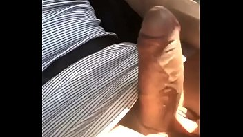 Australian Shemale jerking while driving