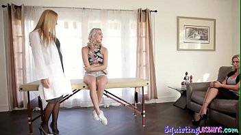 Lesbian Babe Squirts After Tribbing