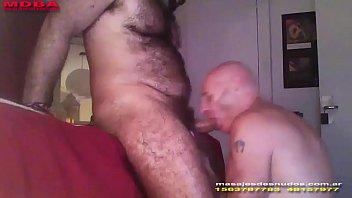 Intense gay blowjobs - Massage intense bear man by nudemassage