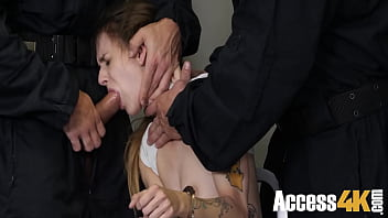 Stealing Teen Taught A Lesson In Jail- Adele Unicorn