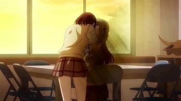 Yuri anime kiss compilation