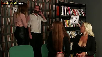 Streaming Video British cfnm dommes sucking and jerking sub in group - XLXX.video