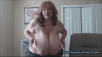 Granny boobed fucks Bbw granny has the biggest natural saggy tits in usa