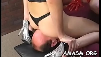 Sensational gal enjoys sex action