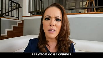 Hot StepMother (Carmen Valentina) Comforts Her Stepson And Gets Fucked - PervMom