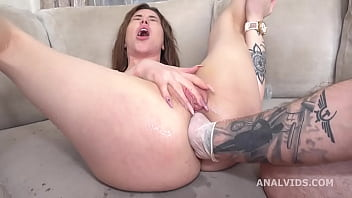 Wild Russia, Monika Wild and Elen Milion go Crazy with Balls Deep Anal, DAP, ButtRose, Squirting, Anal Fisting GL383