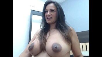 Thick Latina Milf Showing Dark Nipples
