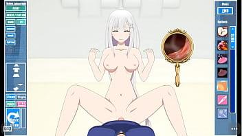 Emilia (Re:Zero) Impregnation 3 min