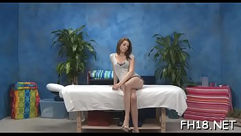 Sexy 18 year old gril gets fucked hard doggystyle by her massage therapist