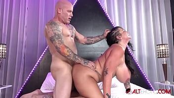 Big titty slut Samantha Mack likes it rough 10 min