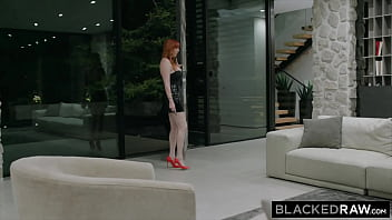 BLACKEDRAW BBC-hungry busty Redhead loves the hotwife life