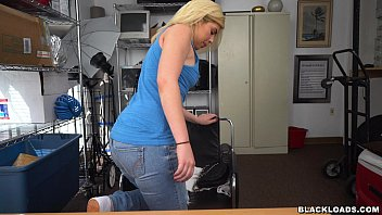 Rikki Learns To Respect Ebony Dick on Black Loads (blk15013) preview image