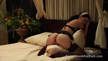 Beautiful Lesbian Brunette Humps Pillow And Orgasms Thinking Of Her Dominant Mistress