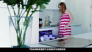 MyBabySittersClub - Babysitter (Dolly Leigh) Gets Hand Stuck In Sink and Fucked By Boss