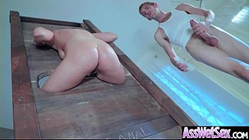 New england fetish fair - Deep anal sex on tape with big curvy ass horny girl kate england vid-28