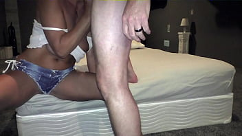MILF wife Lara St Croix Anal creampie and facial