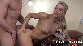 Abi titmuss fucking tape - Hitzefrei tight body german blonde gets her ass reamed