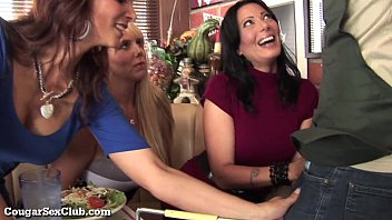 Three Stacked MILFs Desperate For Dick! porno izle