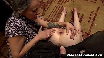 Perverse Family - Mom With Her Son Punished Naughty Daughter