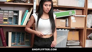 Shoplyfter - Cute Asian Teen (Ember Snow) Strip Searched