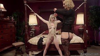 Lisa tyler bondage Busty dom anal fucks petite blonde