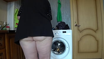 A hidden camera at home peeks under the skirt of a mature wife and captures her juicy PAWG and hairy pussy Amateur fetish