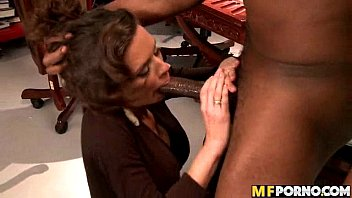 Lonely wive tries big black cock Veronica Avluv 1